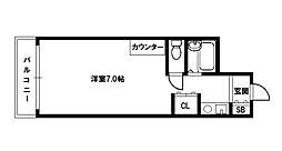 ノアーズアーク北大阪[4階]の間取り