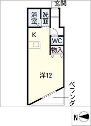 マンションビクトリー[5階]の間取り