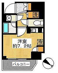 アヴァンツァーレ川崎EAST[5階]の間取り