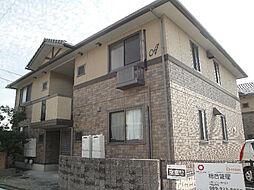 愛媛県松山市高岡町の賃貸アパートの外観