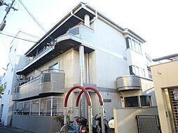 ロータリーマンション徳庵[1階]の外観