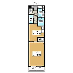 パールコートIII[7階]の間取り