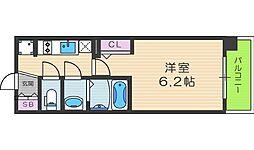 EP福島ジェネル[4階]の間取り