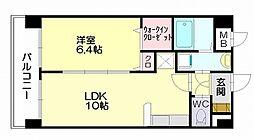 ランコントル[1階]の間取り