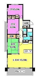 サンクレイドル航空公園[2階]の間取り