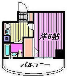 フレグランスWARABI[4階]の間取り