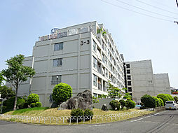 泉ヶ丘コーポラスA棟[4階]の外観