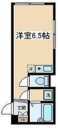 東京都渋谷区上原3丁目の賃貸マンションの間取り