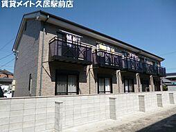三重県津市中河原の賃貸アパートの外観