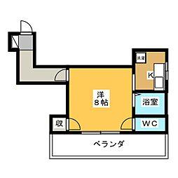 シティスペース[4階]の間取り
