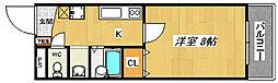 宿院PCハイツ[4階]の間取り
