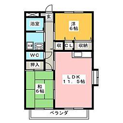 プリーマT[2階]の間取り