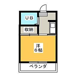 メゾン神山[3階]の間取り
