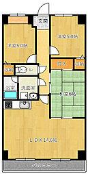 ニチゴマンション2[403号室]の間取り