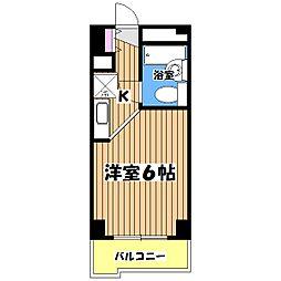 TOP・立川[3階]の間取り