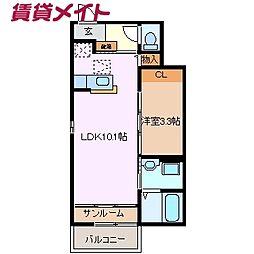 川越富洲原駅 4.7万円