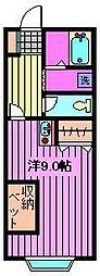 サンアネストマンション[3階]の間取り