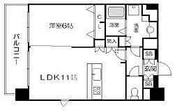 プレサンス新大阪ヴィガ[10階]の間取り
