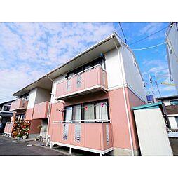 静岡県藤枝市田沼の賃貸アパートの外観