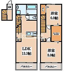 [タウンハウス] 大阪府堺市堺区三宝町2丁 の賃貸【/】の間取り