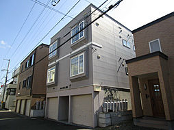 北海道札幌市東区北二十八条東12丁目の賃貸アパートの外観