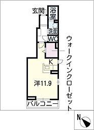 グラシア[1階]の間取り