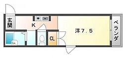 大隅マンション[3階]の間取り