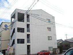 愛知県北名古屋市中之郷栗島の賃貸マンションの外観