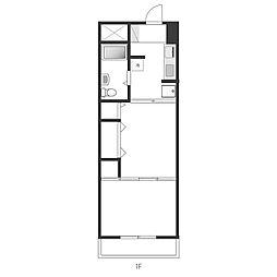 三ツ木小金井ビル[3階]の間取り