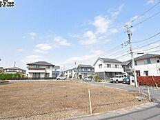 3号地(写真右手前)付近 現地写真 東村山市富士見町3丁目