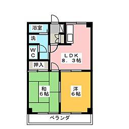 メゾンファイン[2階]の間取り