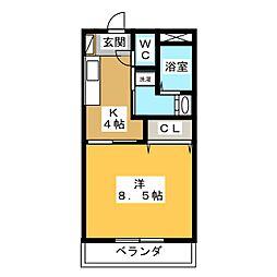 仮)久保田町 Mマンション[2階]の間取り