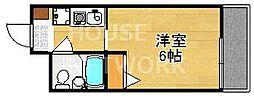 京都府京都市東山区今道町の賃貸マンションの間取り