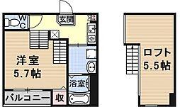 仮称)京都市山科区大宅関生町SKHコーポ[A101号室号室]の間取り