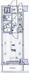 ルーブル高田馬場弐番館[206号室号室]の間取り