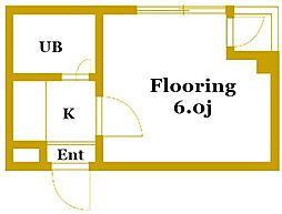 VILLA笹野台[3階]の間取り