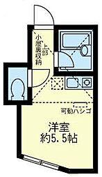 神奈川県横須賀市鷹取2丁目の賃貸アパートの間取り