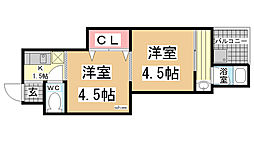 [一戸建] 兵庫県神戸市灘区天城通3丁目 の賃貸【/】の間取り