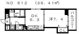 コード ナチュレ[7階]の間取り