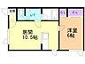間取り,1LDK,面積39.6m2,賃料4.5万円,バス 函館バス松川町下車 徒歩6分,,北海道函館市松川町9-2