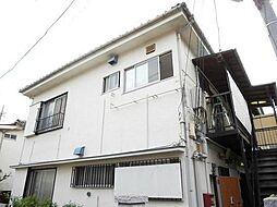 東京都中野区野方4丁目の賃貸アパートの外観