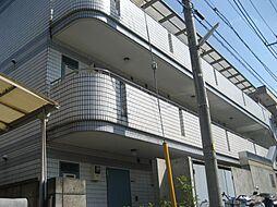 神奈川県横浜市鶴見区上の宮2丁目の賃貸マンションの外観