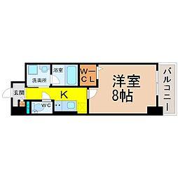 プライマリーステージ[4階]の間取り
