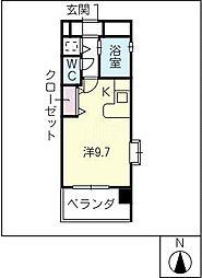 パルテンツァ[7階]の間取り