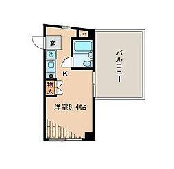 エシール高円寺[3階]の間取り