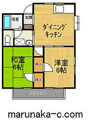鈴木コーポ[102号室]の間取り
