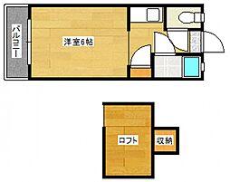 [一戸建] 福岡県太宰府市五条2丁目 の賃貸【/】の間取り