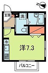 コートヴィラ新高円寺[3階]の間取り
