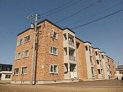 北海道札幌市東区東苗穂十三条2丁目の賃貸アパートの外観