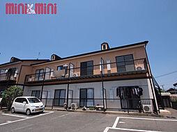 福岡県糸島市前原西4丁目の賃貸アパートの外観